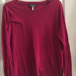 Joules bright pink soft cotton sweater sz6